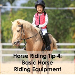 Horse Riding Tip 4 Basic Horse Riding Equipment