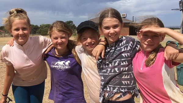Alba View Equestrian Horse Riding Adelaide - Horse Mad Gang 2018-1