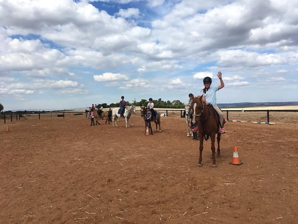 Alba View Equestrian Horse Riding Adelaide - Horse Mad Gang 2018-2