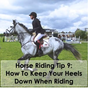 Horse Riding Tip 9 How To Keep Your Heels Down When Riding